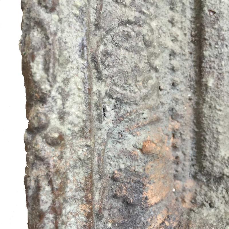 Spegel shabby chic med ordentlig patina for Ka che vintage look