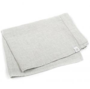 LINEN TEA TOWEL GREY MELANGE