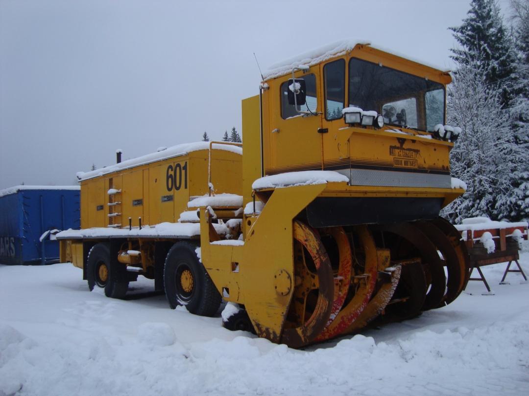 Snöslunga av lite större modell! Kodiak 6000
