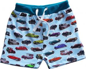 Shorts Cars OEKO-TEX-bomull.