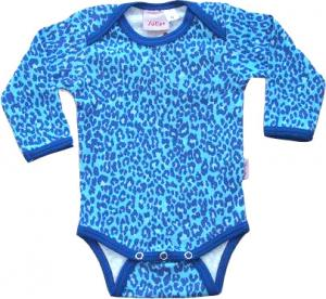Leopard Turkos Body i OEKO-TEX
