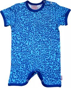 Leopard Turkos Brottar-body i OEKO-TEX