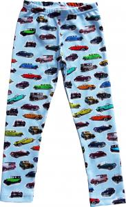 Leggings slimfit Cars OEKO-TEX-bomull.