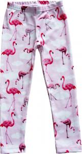​Leggings slimfit Flamingo OEKO-TEX-bomull.