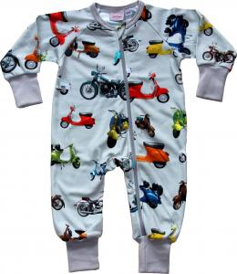Onesie Wheels i OEKO-TEX