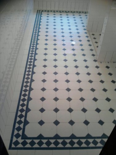 15 Floor Tile Designs For The Foyer: Octagon Floor Tiles 15 X 15 Cm White/black