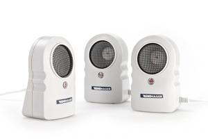 PROTECTO E50 Musskrämma & råttskrämma med ultraljud 3-pack