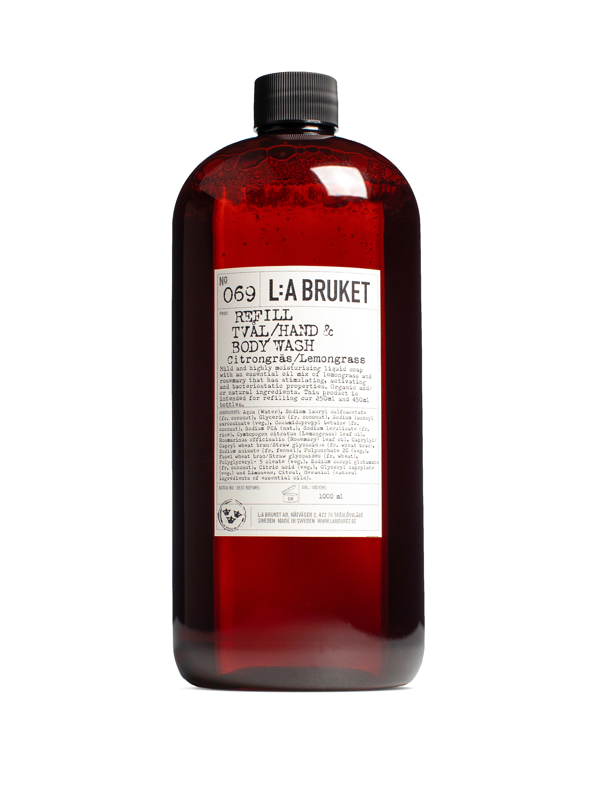 Refill Liquid Soap Lemongrass