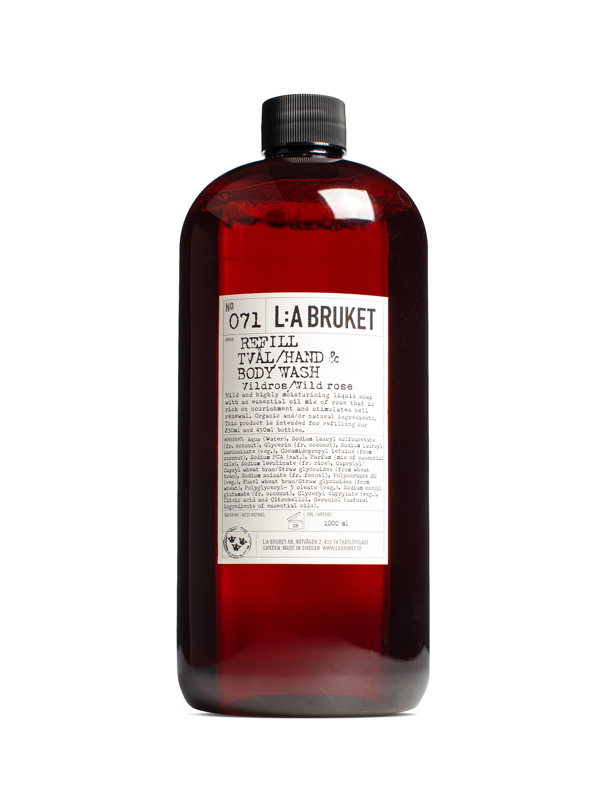 Refill Liquid Soap Wildrose