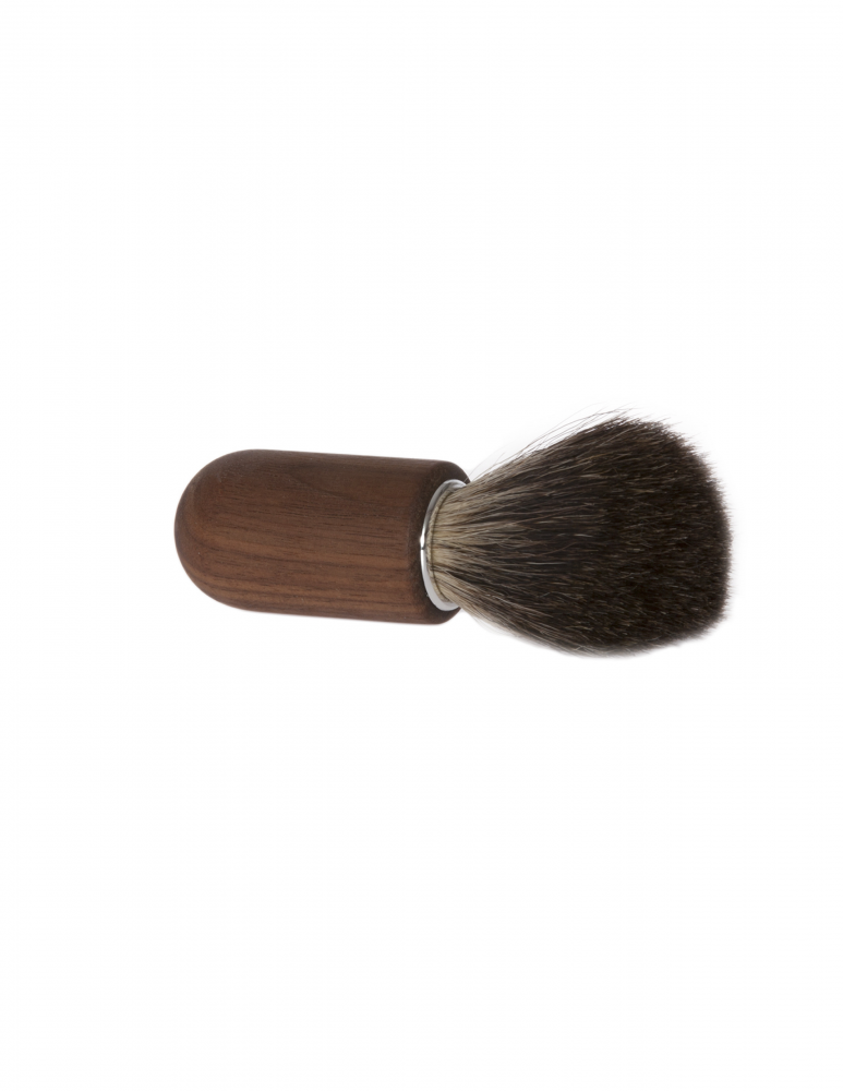 Shaving brush - Walnut & Badger Hair