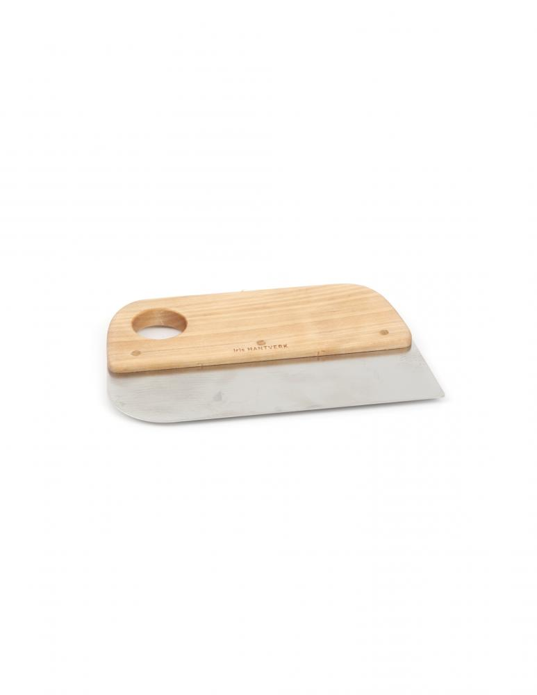 Dough Scraper Oiled Birch & Metal