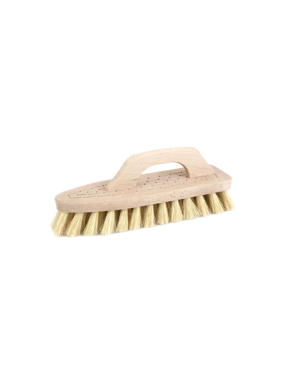 Scrubbing Brush with Handle Tampico fibre