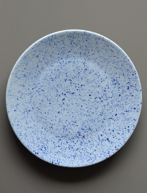 Pure Stain Blue Plate 28cm