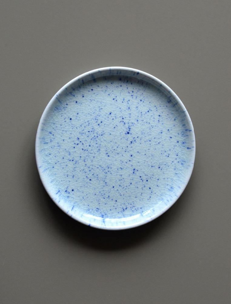 Pure Stain Blue Plate 16cm