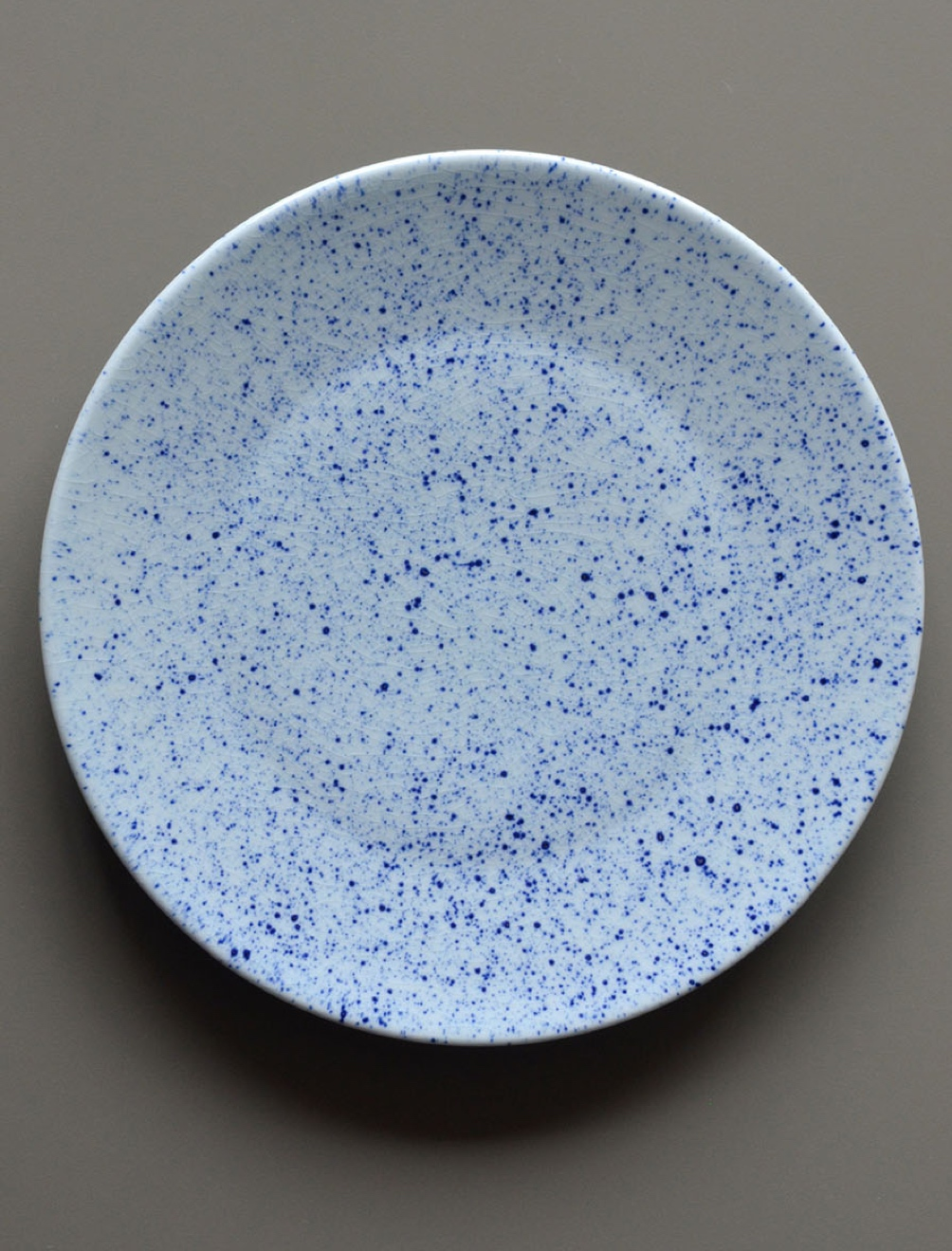 Pure Stain Blue Plate 20cm