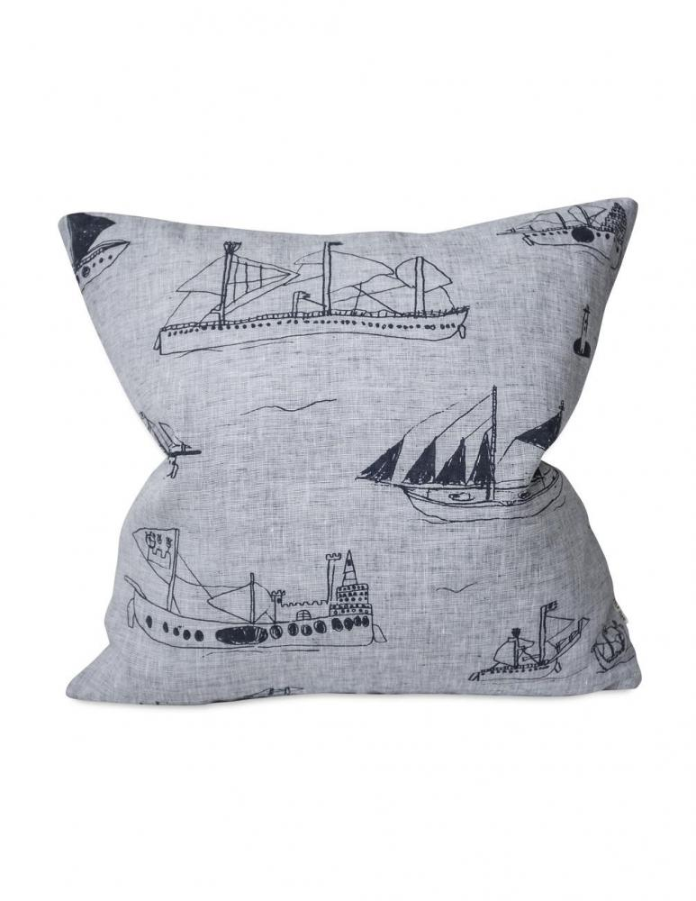 Ohoy Cushion Cover Night Blue