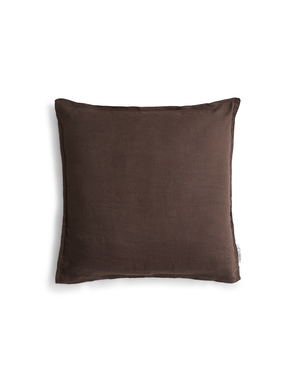 Pillowcase Linen Dark Brown
