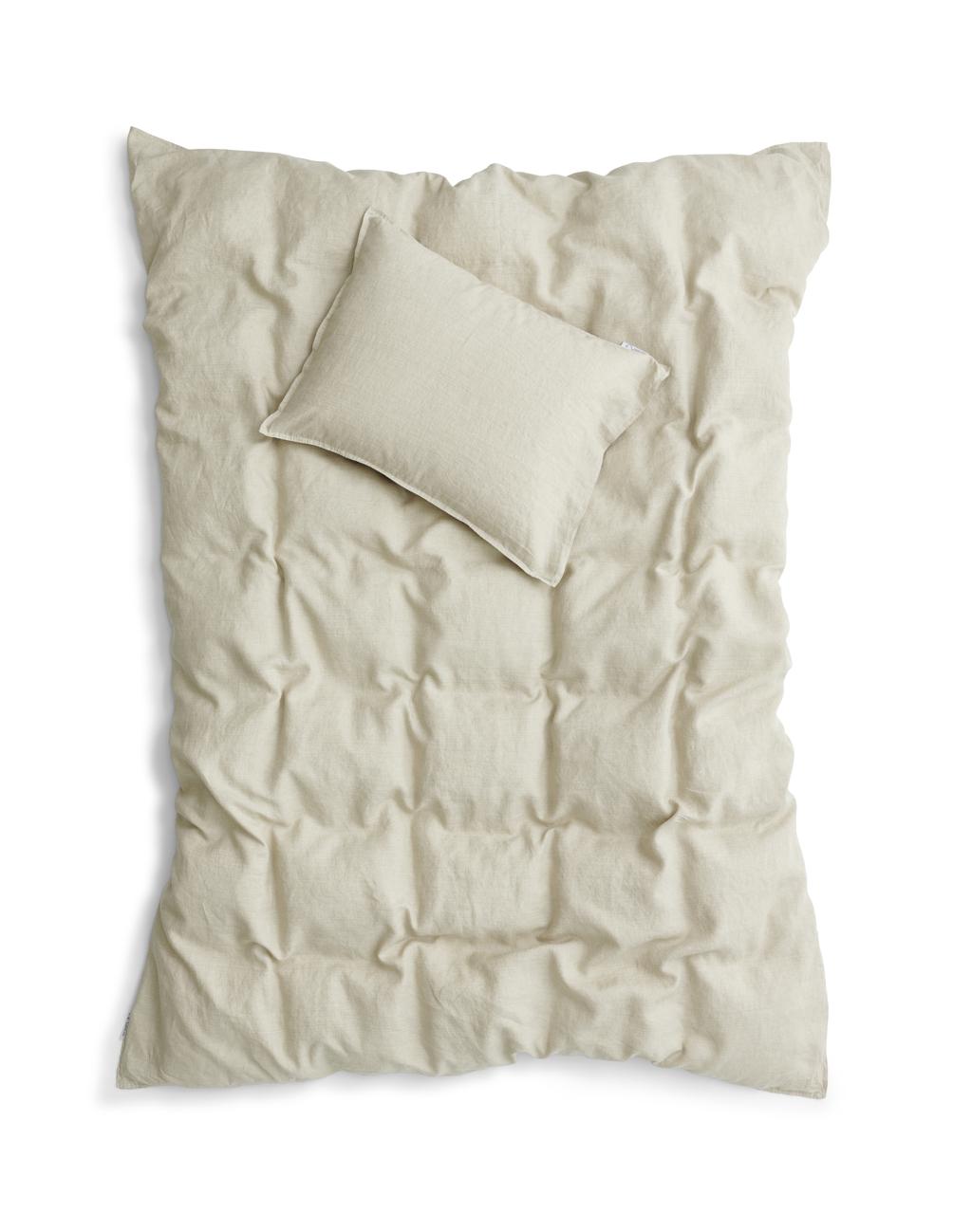 Duvet Cover Set Linen Natural