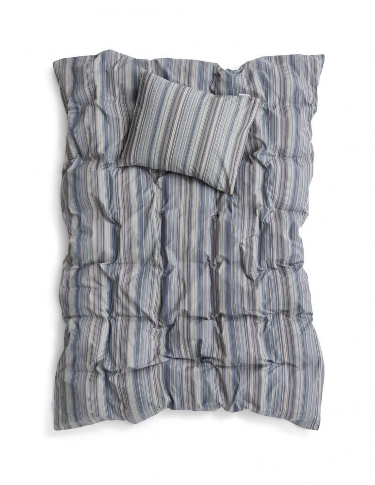 Duvet Cover Leftover Yarn Blue