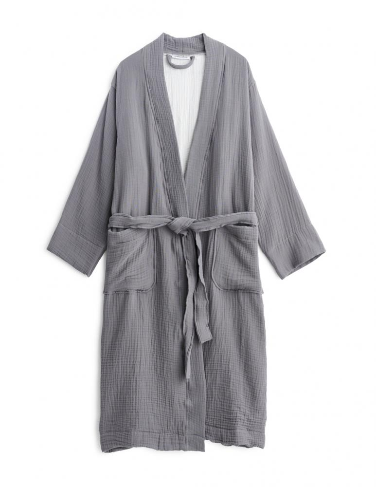 Muslin Badrock Dark Grey