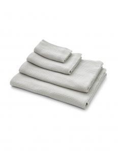 Waffle Towel Light Grey