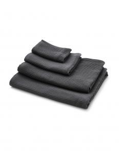 Waffle Towel Dark Grey