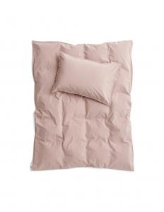 Baby Duvet Cover Crinkle Rose Taupe