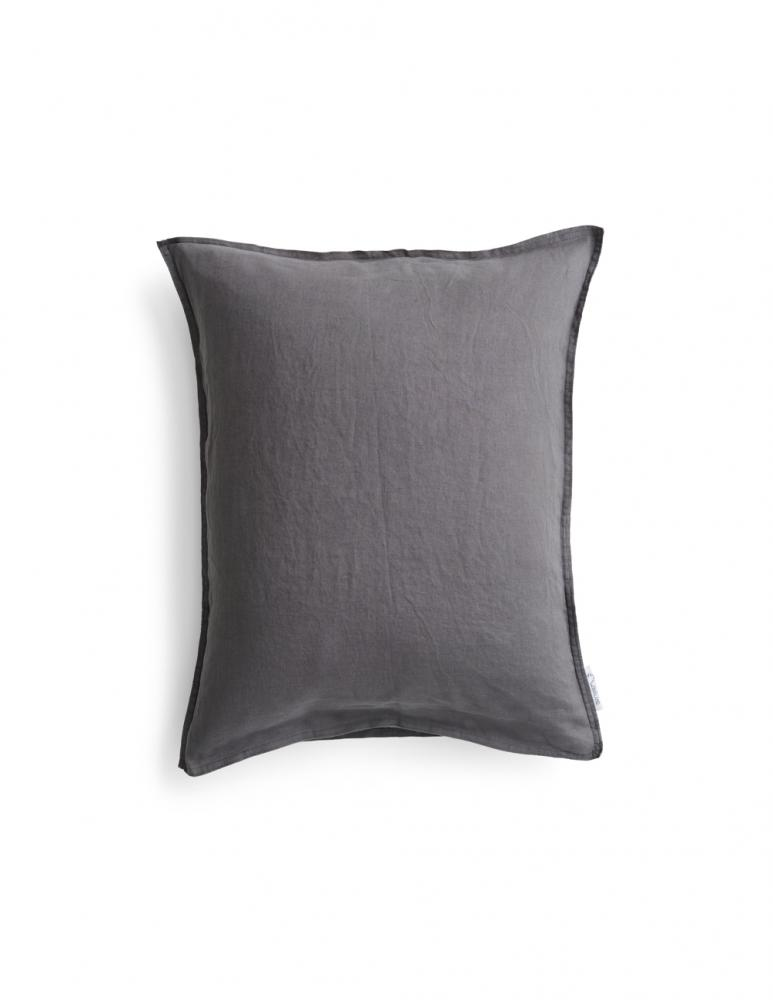 Pillowcase Linen Dark Grey