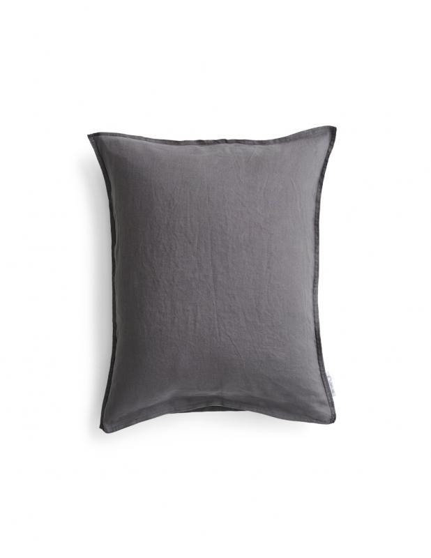 Pillowcase Linen Dark Grey
