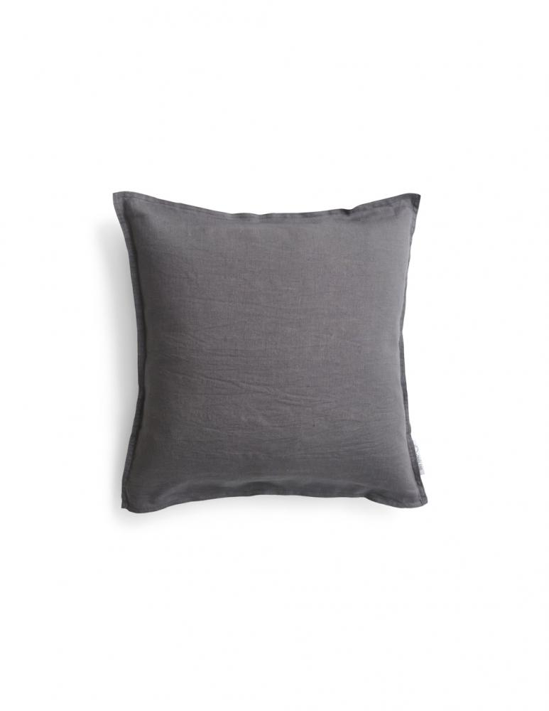 Cushion Cover Linen Dark Grey