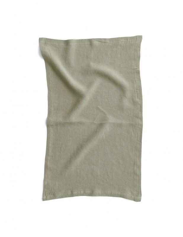Kitchen Towel Linen Sage