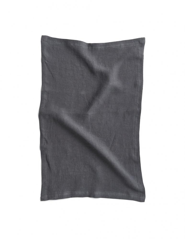 Kitchen Towel Linen Dark Grey