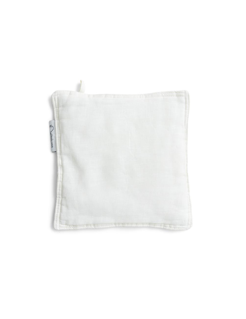 Linen Potholders Optical White