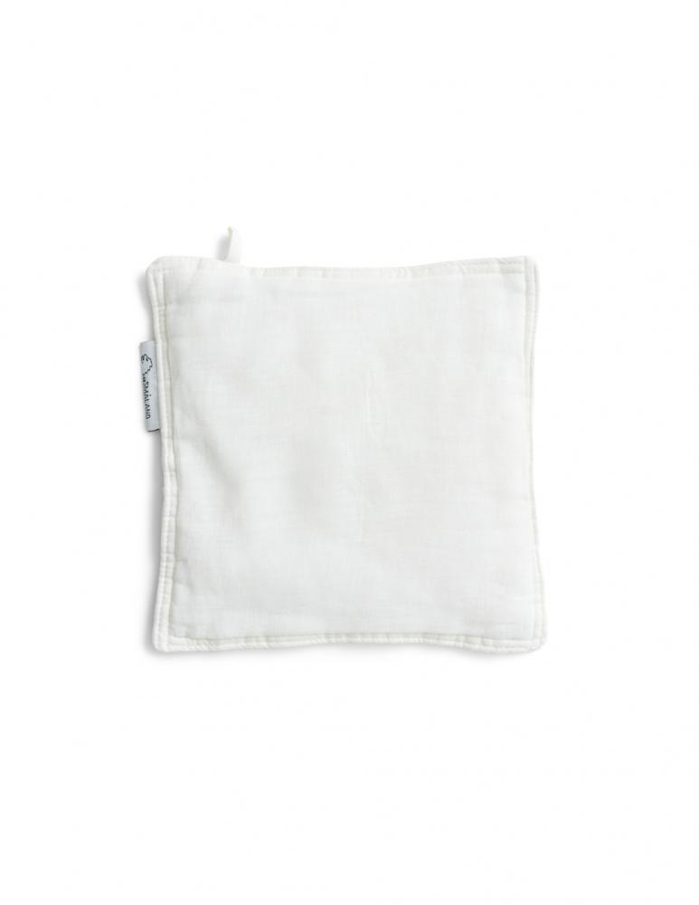 Linen Potholders Optical White