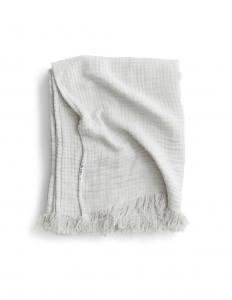 Bedspread Muslin Light Grey
