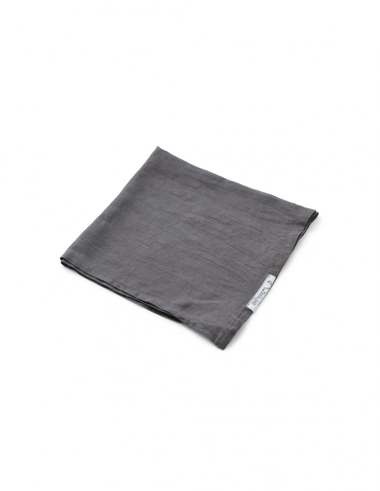 Linen Napkin Dark Grey