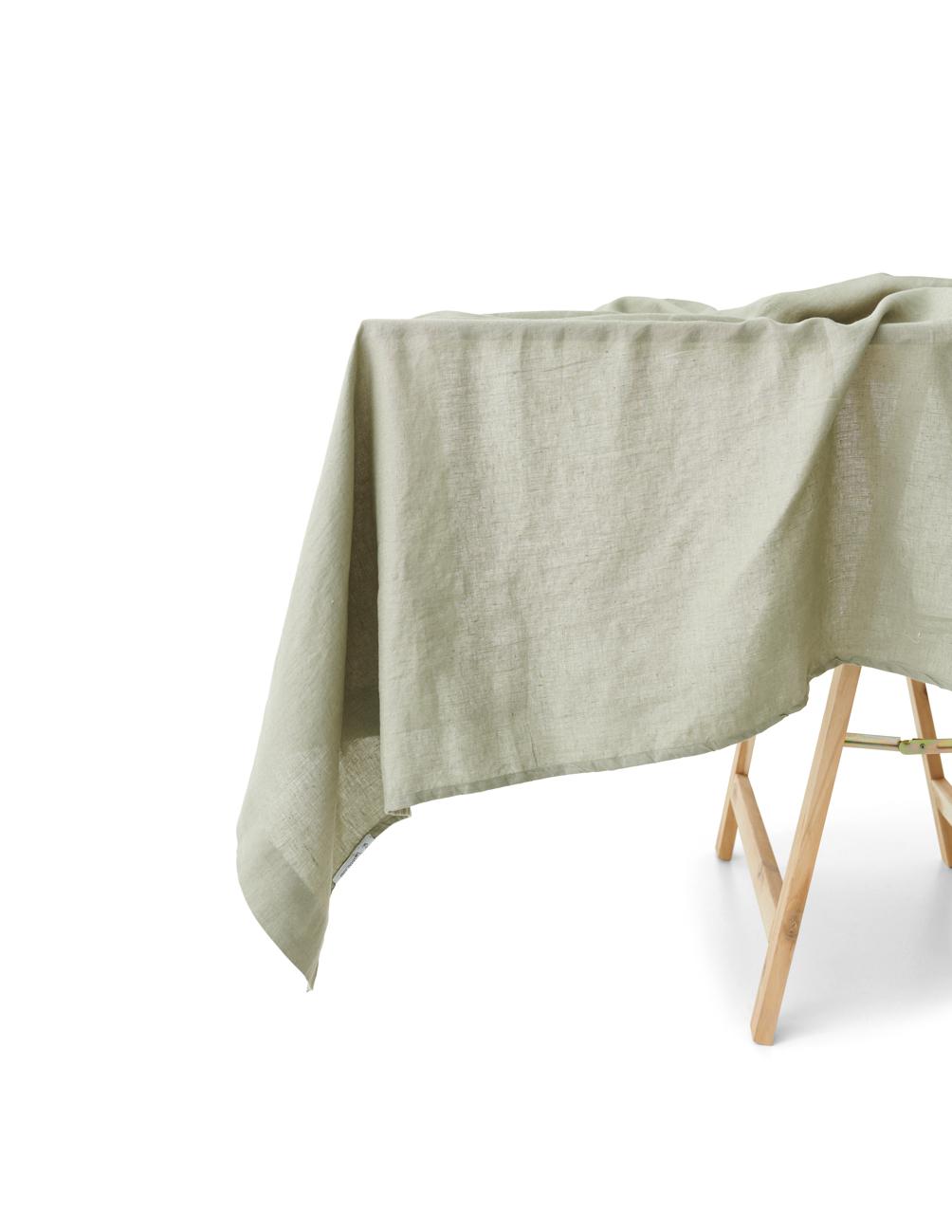 Tabelcloth Linen Sage