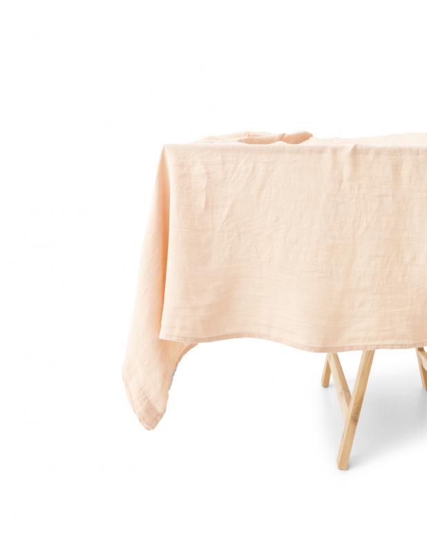 Tabelcloth Linen Peach Pink