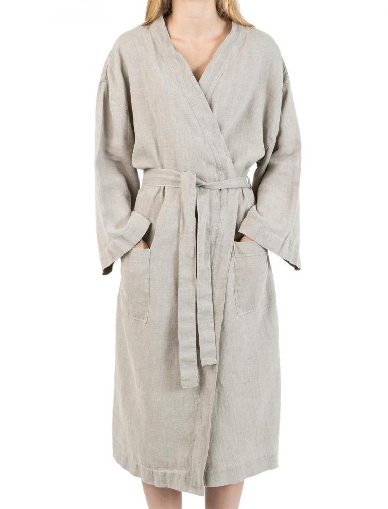 Linen Kimono Natural