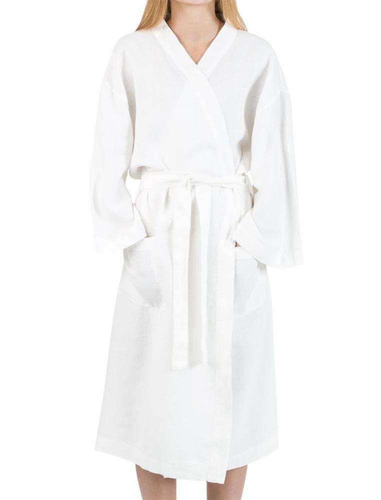 Linen Kimono White