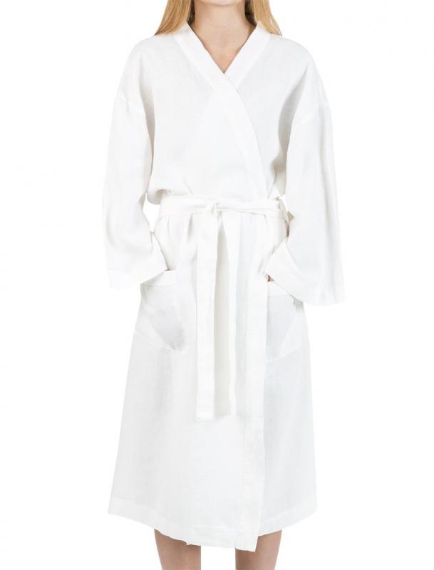 Linne Kimono Vit