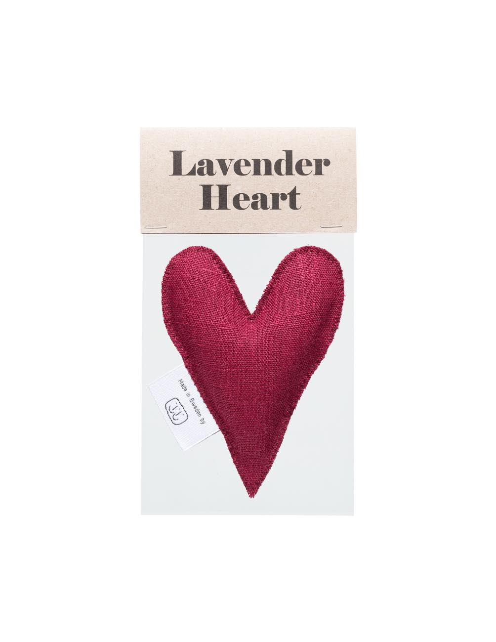 Lavender Heart Burgundy