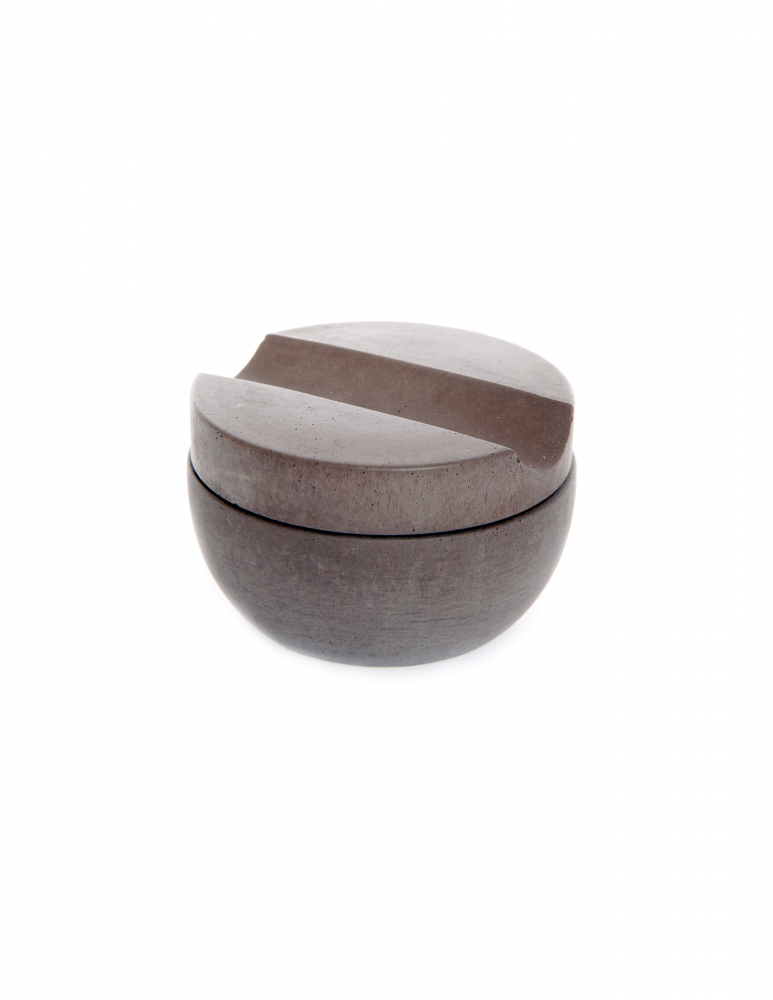 Shave Cup & Soap - Brown