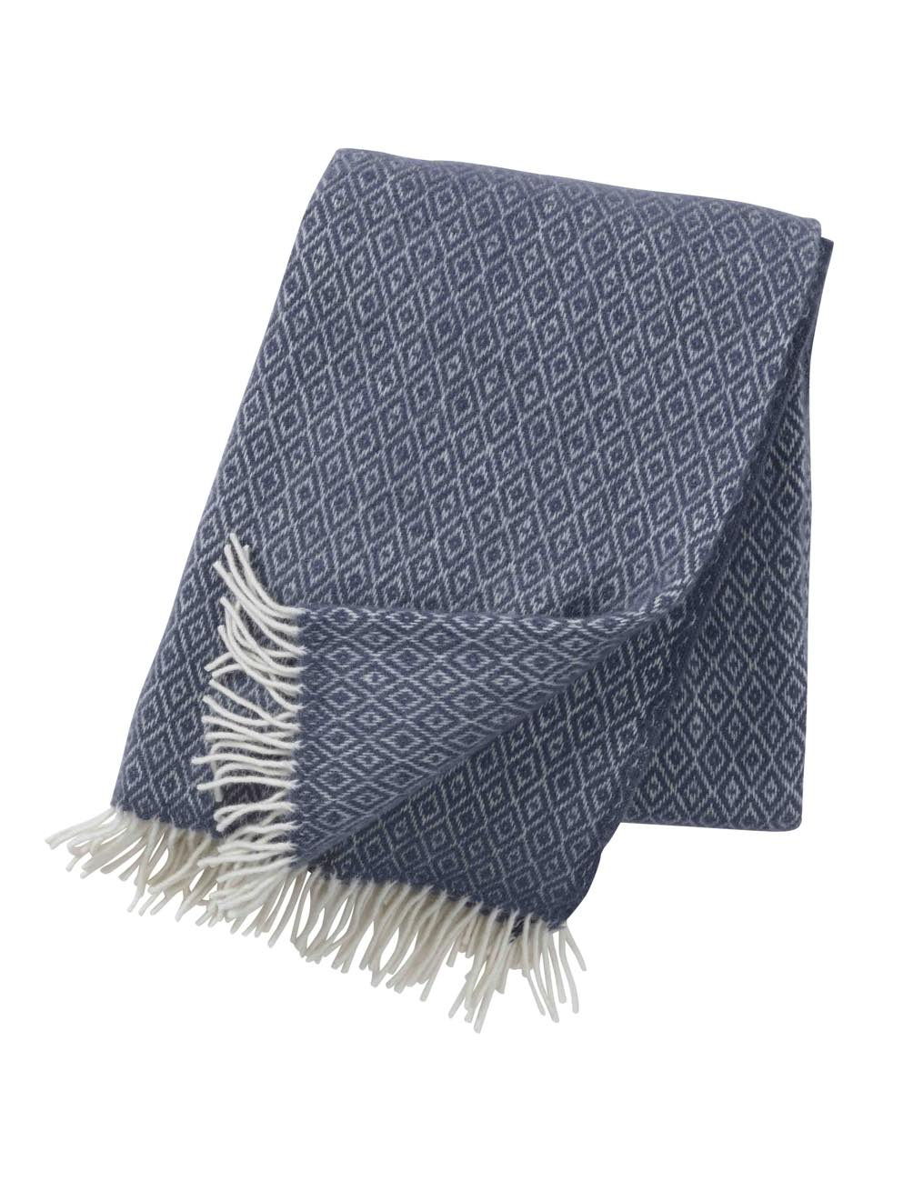 Stella Smokey Blue Blanket/Throw
