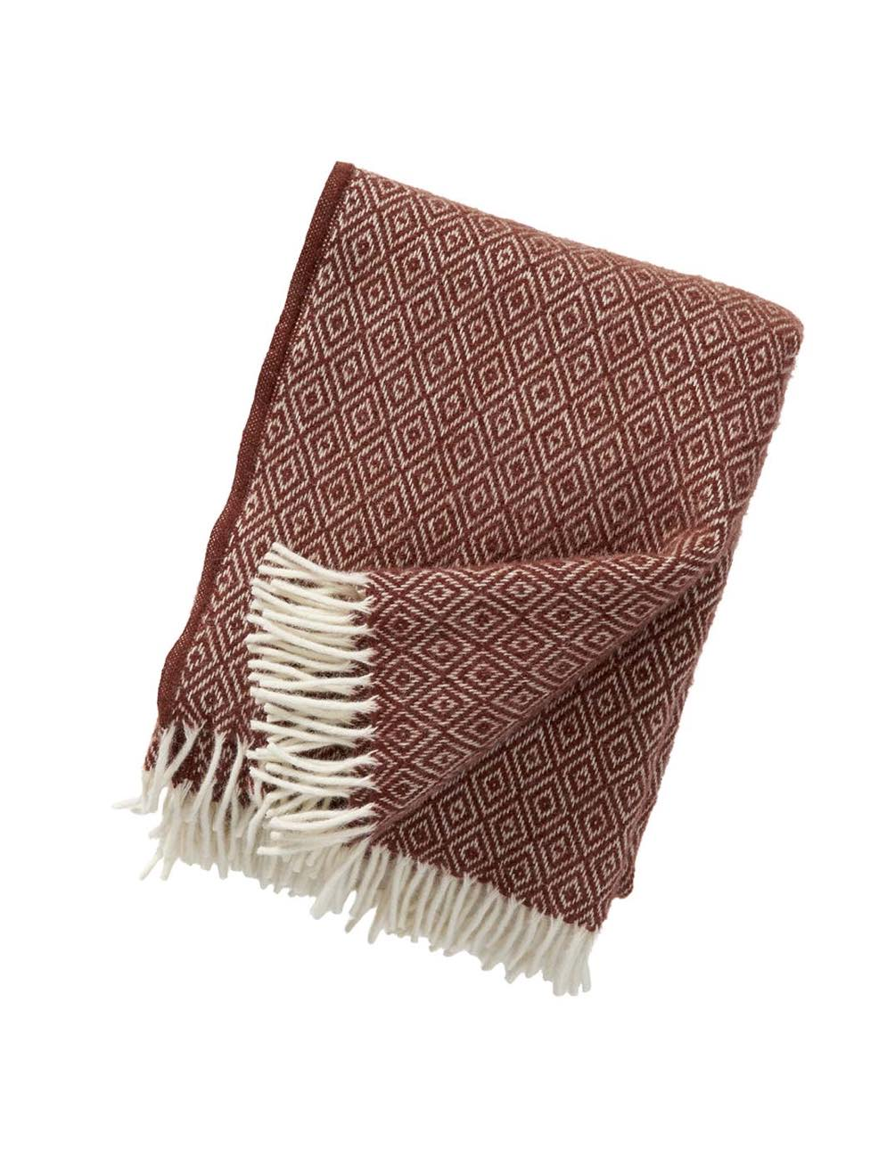 Stella Rust Blanket/Throw