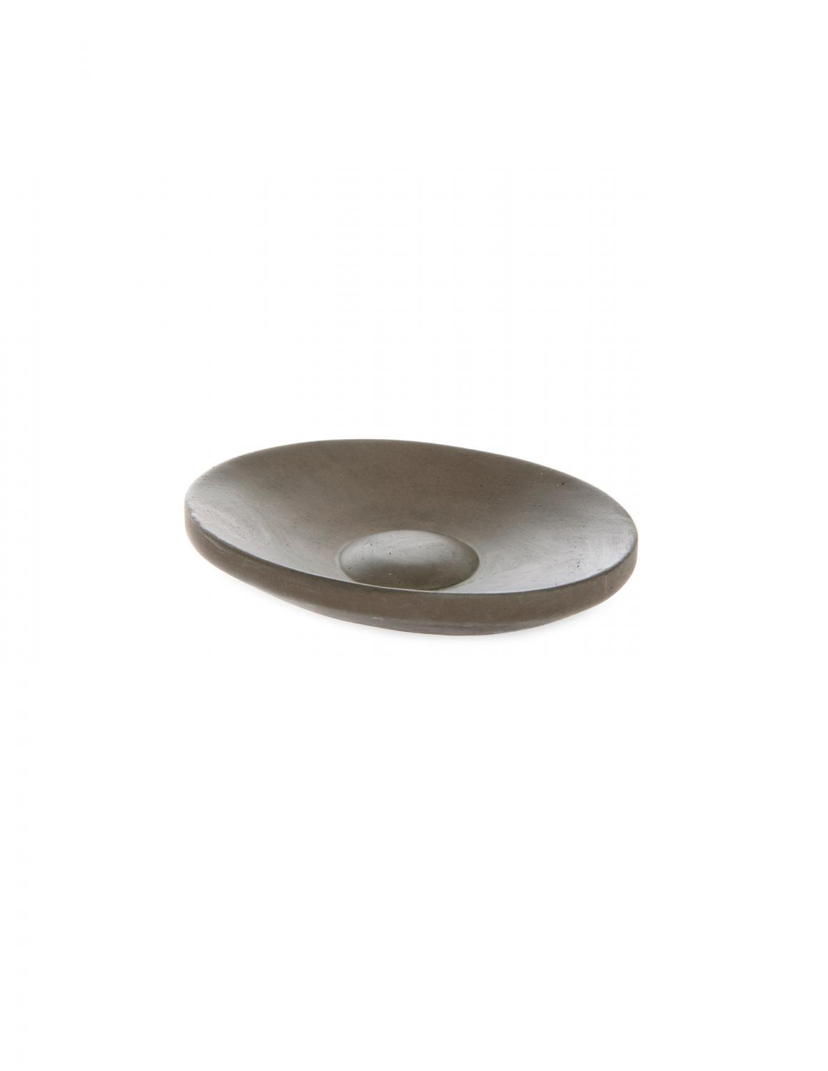 Soap Dish Oval Brown