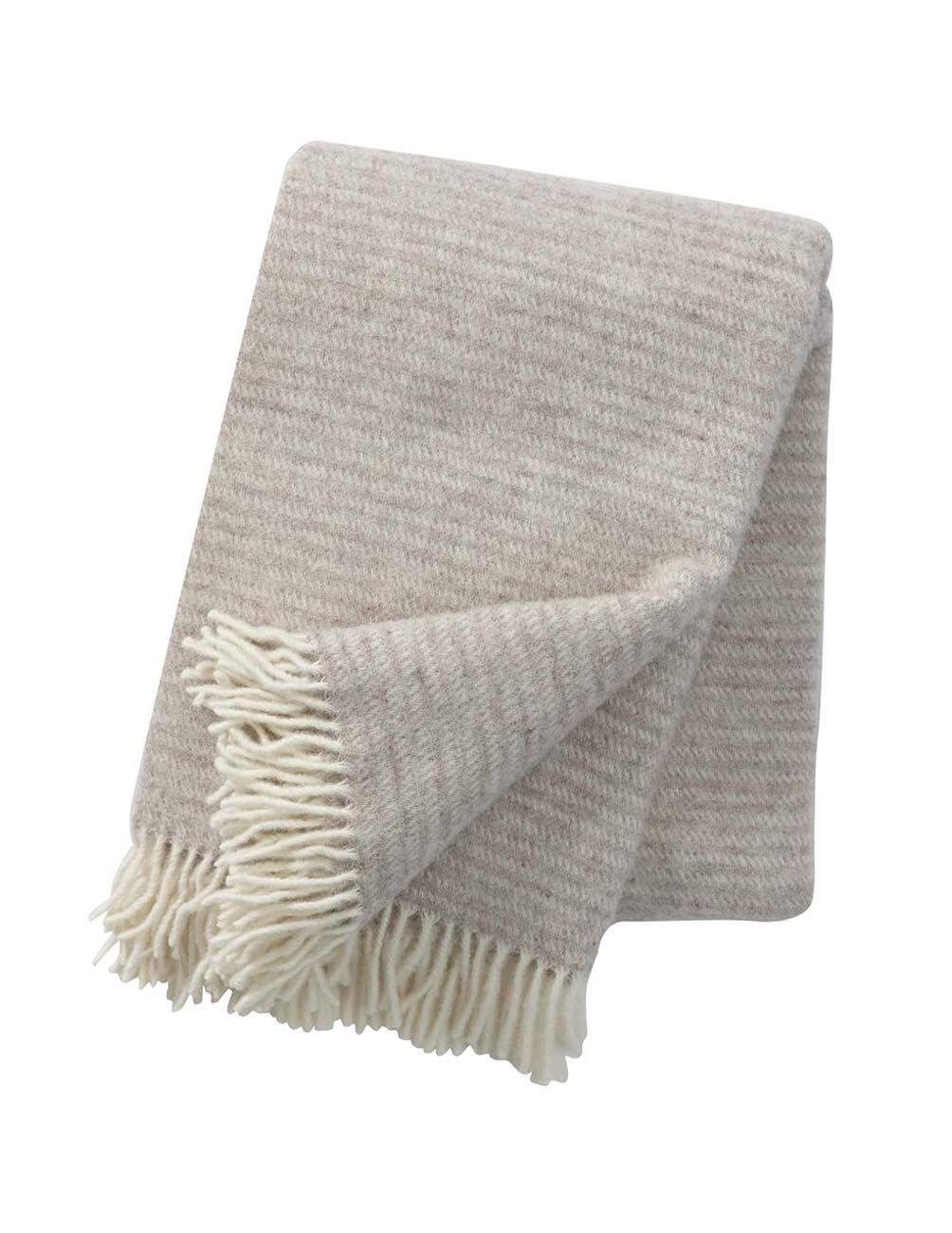 Ralph Nature Beige Blanket/Throw