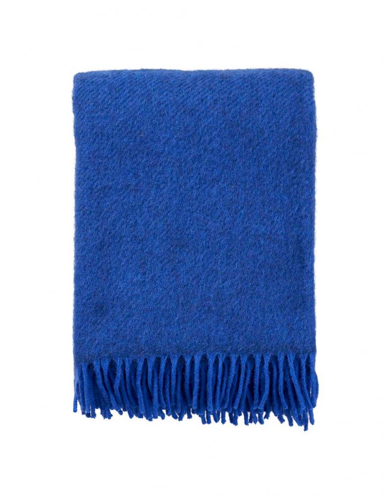 Gotland Blue Wool Blanket