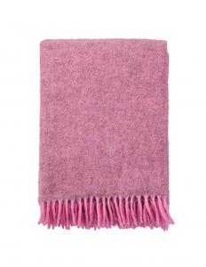Gotland Pink Wool Blanket