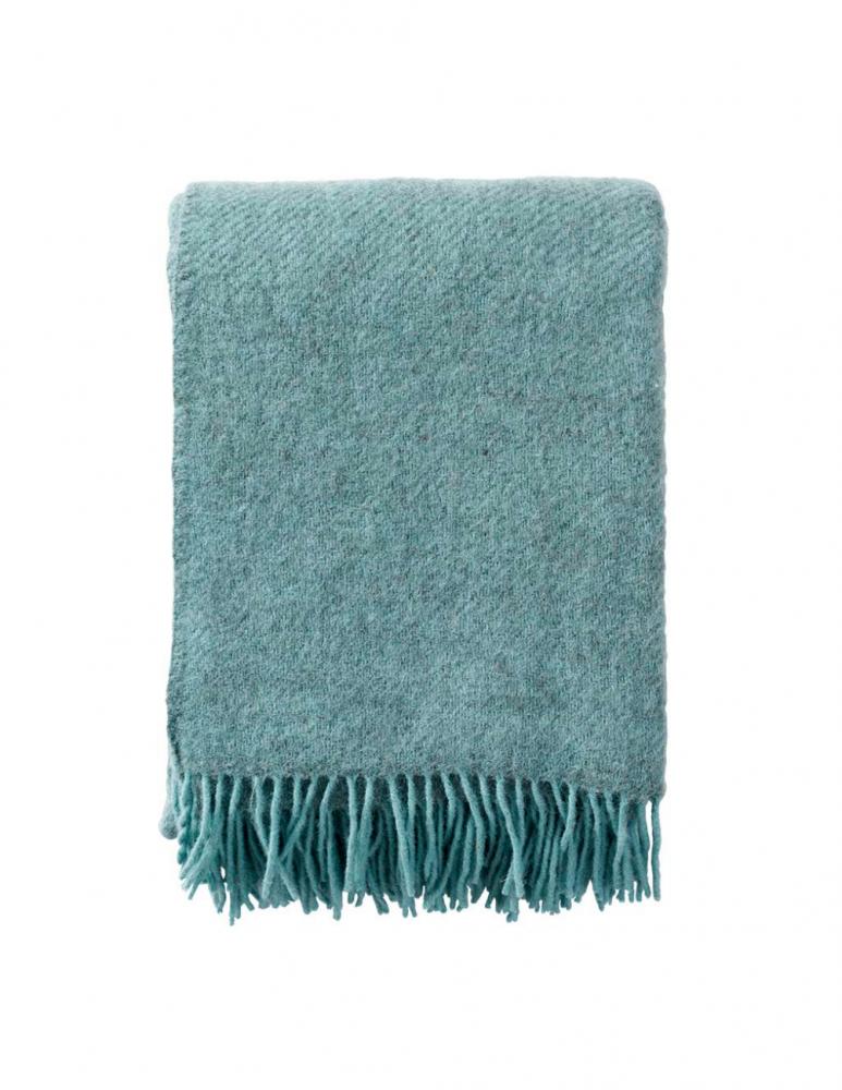 Gotland Turqouise Wool Blanket